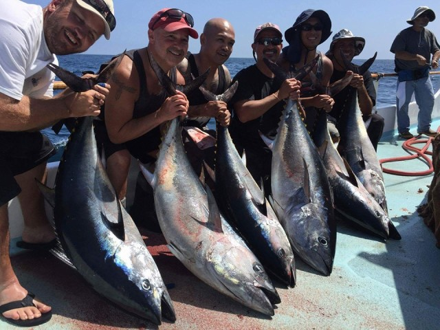 Sportsmen 39 s groups rally against a ban on pacific bluefin for Coastside fishing club