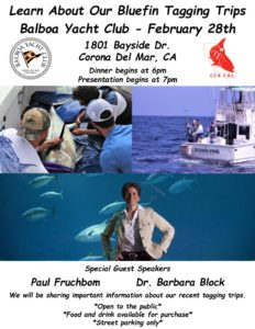 CCA CAL Bluefin Presentation @ Balboa Yacht Club | Newport Beach | California | United States